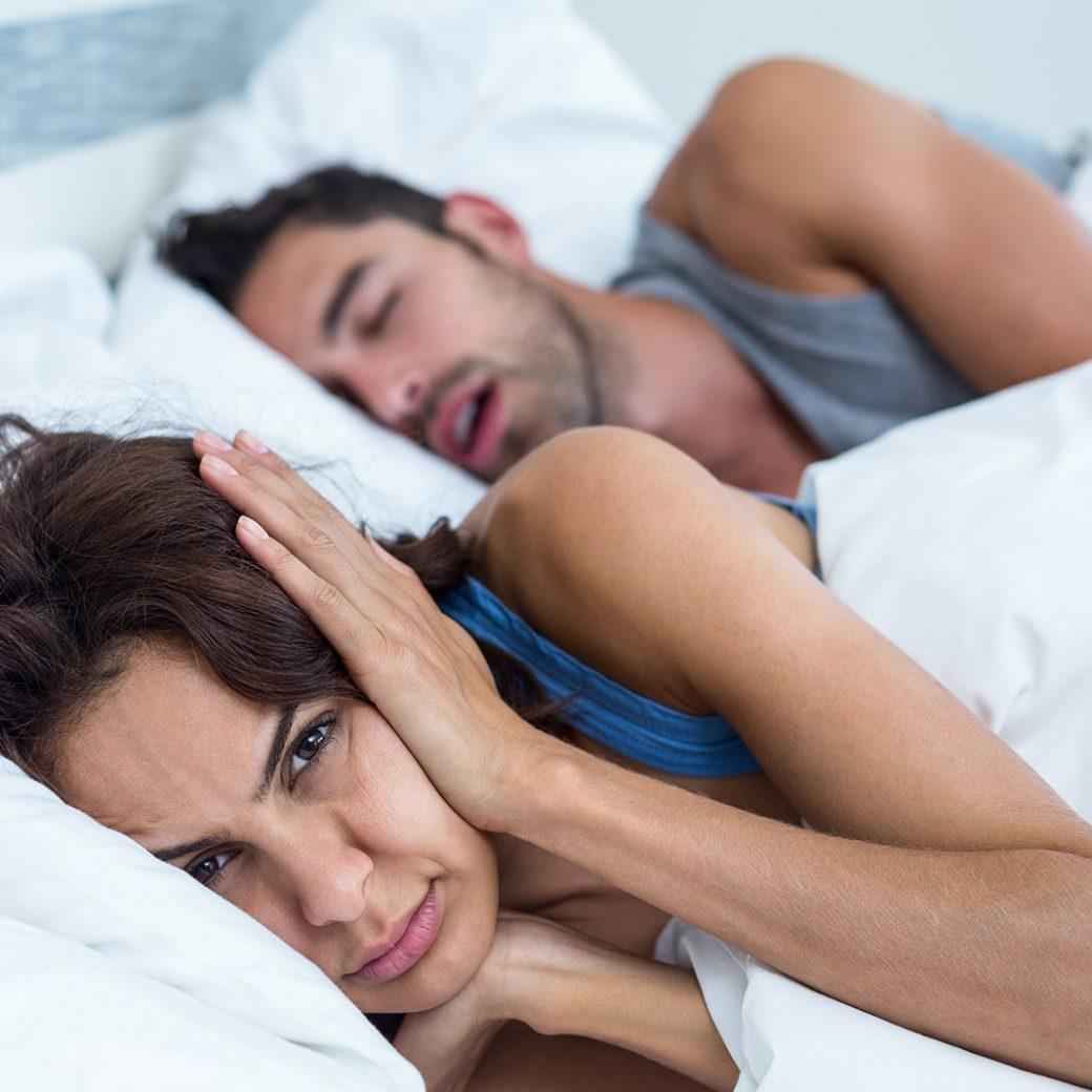 Is snoring keeping you awake?